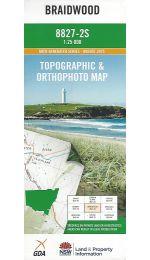 Braidwood 25k Topographic Map - 8827-2S