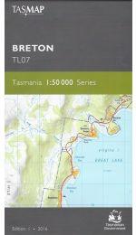 Breton Topographic Map - TL07
