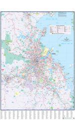 Brisbane Suburban UBD Laminated