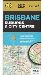 Brisbane Suburbs & City Centre - UBD 418
