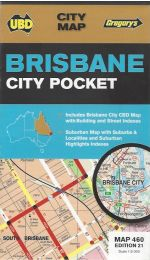 Brisbane City Pocket Map - UBD 460