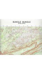Bungle Bungle Topographic Map - 4563-2