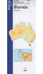 Burnie 1:250k Topographic Map SK55-06
