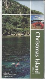 Christmas Island Topographic Map
