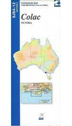 Colac Topographic Map 250k - SJ54-12