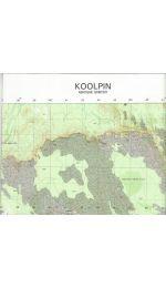 Comoye Topographic Map - 5469-3