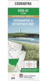Courabyra Topographic Map - 8526-4S