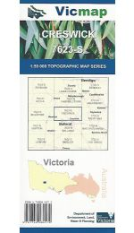 Creswick Topographic Map - 7623-S