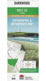 Darkwood Topographic Map - 9437-3S