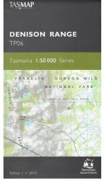 Denison Range 50k Tasmap - TP06