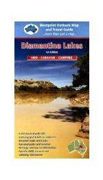 Diamantina Lakes  Map- Westprint