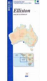 Elliston Topographic Map 250k - SI53-06