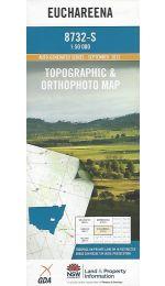 Euchareena Topographic Map - 8732-S