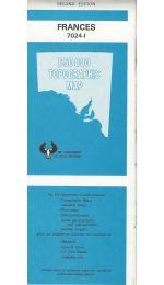 Frances 50k Topographic Map - 70241