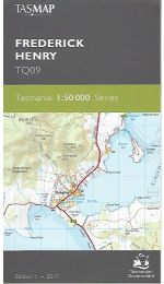 Frederick Henry Topographic Map - TQ09