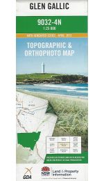 Glen Gallic Topographic Map - 9032-4N