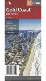 Gold Coast And Region Map - Hema Maps
