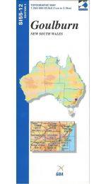 Goulburn Topographic Map - SI55-12