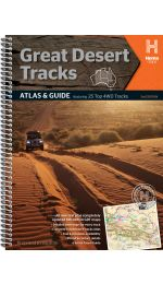 Great Desert Tracks Atlas And Guide