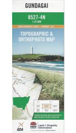 Gundagai Topographic Map - 8527-4N