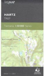 Hartz 50k Tasmap -  TR07