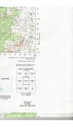 Heathcote VIC Topographic Map - 7824