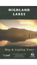 Highland Lakes Tasmania Map