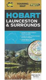 Hobart Launceston & Surrounds Map- UBD