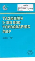 Huon Tasmania Topographic Map - 8211