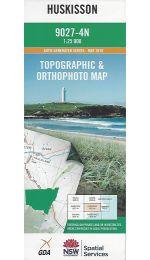 Huskisson Topographic Map - 9027-4N