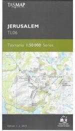 Jerusalem Tasmap 1:50k Topographic Map - TL06