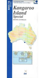 Kangaroo Island Special Topographic Map - SI53-16
