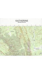 Katherine Topographic Map 50k - 5369-2