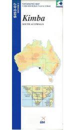 Kimba Topographic Map 250k - SI53-07