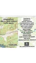 Kimberley Raster 50k USB - Greg Harewood