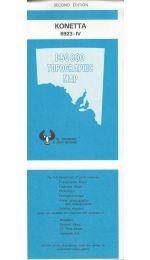 Konetta Topographic Map - 6923-4