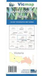 Laanecoorie Topographic Map - 7624-S