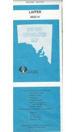 Laffer Topographic Map - 6925-4