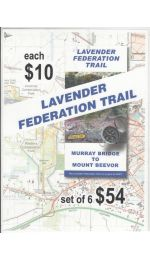 Lavender Federation Trail Map Set