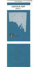 Lincoln Gap Topographic Map - 6432-4