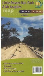 Little Desert & Mt Arapiles Map