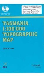 Little Swanport TASMAP Topographic Map - 8413
