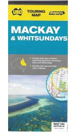 Mackay Whitsundays Map - UBD 485