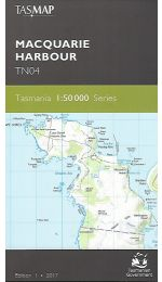 Macquarie Harbour Topographic Map - TN04