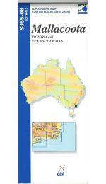 Mallacoota Topographic Map - SJ55-08