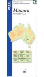 Manara Topographic Map - SI54-04