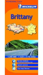 France Regional - Brittany Michelin