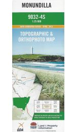 Monundilla 25k Topographic Map - 9032-4S