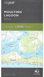 Moulting Lagoon 50k Topographic Map - TM10