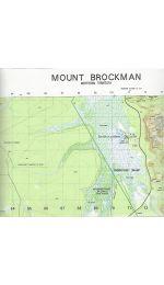 Mount Brockman topographic Map - 5472-1